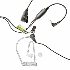 COVERT ACOUSTIC EARPIECE FOR YAESU / VERTEX RADIO