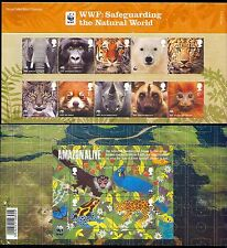 GB 2011 WWF/Bear/Tiger/Elephant/Animals P Pack (n30304)