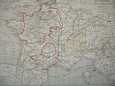 LA FRANCE à la mort de Philippe Auguste 1180 à 1223