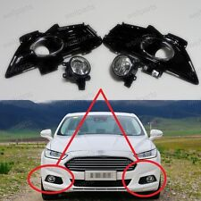 Front Fog light Lamps & Cover Kits For Ford Mondeo Fusion 2013-2015