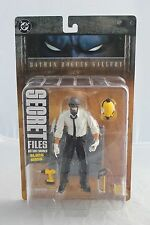 DC Direct Batman Rogues Gallery Secret Files - Black Mask - Action Figure