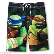 Teenage Mutant Ninja Turtles Boys' Swim Trunk - Size Large