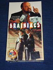 NEW! The Brainiacs.com (VHS, 2001) Feature Films for Families