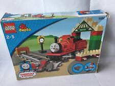 LEGO Duplo Ferrovia Lok-Thomas & Friends-James in Knapford-Set 5552 OVP