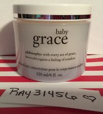 PHILOSOPHY BABY GRACE WHIPPED BODY CREME CREAM LOTION LARGE 4 OZ RARE!