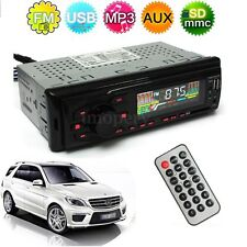 Auto Car Stereo Headunit Radio Player In-dash MP3/USB/SD/AUX/FM/Iphone Non CD