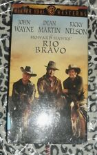 Rio Bravo Western  VHS colorized version NEW SEALED John Wayne color