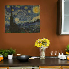 The Starry Night-Wall Decal Art Sticker Vinyl Van Gogh Painting
