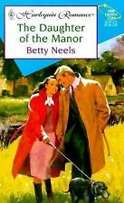 Daughter Of The Manor, Betty Neels, Good Book