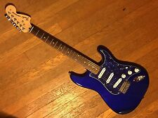 CUSTOM WIRED SERIES S-1 STRATOCASTER FENDER STRAT BLUE PEARL 70'S MAPLE ROSEWOOD