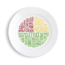 Healthy Portion Plate (Melamine) - Lose Weight The Easy Way!