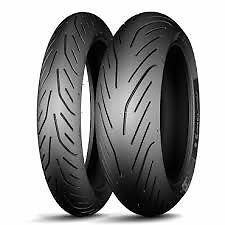 Michelin Pilot Power 3 Tire Set, Rear 180/55ZR-17 And Front 120/70ZR-17