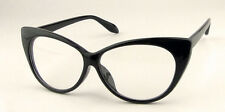 New Vintage Cat-Eye Shape Women Lady Girls Plastic Plain Eye Glasses
