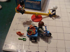 Playmobil Set in box #3308 CLEAN & COMPLETE : c 1988 KIDS SEE SAW AND TRIKE