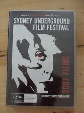 SYDNEY UNDERGROUND FILM FESTIVAL: 2007 FILMS – DVD, REGION 0, SEALED BRAND NEW