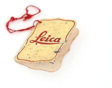 LEICA QUALITY CONTROL CERTIFICATE - 1938 - RARE!