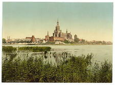 General View From Station Stralsund Pommeraina A4 Photo Print