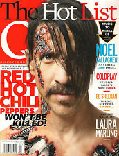 Q Magazine UK 302 September 2011 RED HOT CHILI PEPPERS Coldplay Noel Gallagher