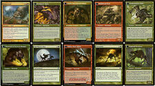 MTG Werewolf (Red Green) Deck - Howlpack Alpha Instigator Gang Magic Gathering