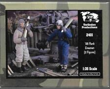 Verlinden WWII German '88 Flank Crewmen, 2 Resin Figures in 1/35 2401  ST
