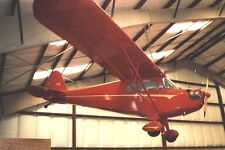 J-4 Cub Coupe Piper J4 Light Airplane Wood Model Replica Small Free Shipping
