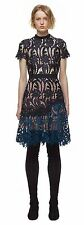 AUTHENTIC Self Portrait Prairie Mini Lace Dress US 8/UK12 NEW +TAG