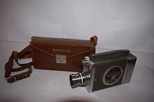 Bell & Howell 16mm Magazine Movie Camera 200 Leather Case & magazine