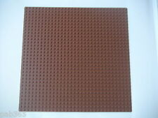 Lego Plaque de base marron 32x32 neuve / New Reddish Brown Baseplate REF 3811