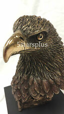 NEW WildLife Eagle Head Statue Figures Sculpture Bronze Ship Immediately !!!