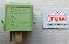 BMW E34/E36 relais hellgrun 61.36-8366600 Siemens V23134-K59-X222 relay