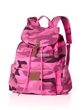 Victoria's Secret PINK Large Backpack in Pink Camo NEW *RARE*