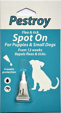Flea and Tick- Treatment for puppies & small dogs Pestroy by Bob Martin