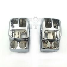 Chrome Switch Housing Cover Kit For Harley 2014-later Trike Freewheeler FLRT