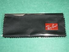 Authentic Ray Ban BLACK Micro Fiber Cleaning Cloth  BRAND NEW with Logo  UNUSED