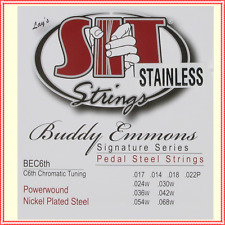 SIT Strings Pedal Steel Guitar Stainless Steel 10 String, .017 - .068  PSBE-C6th