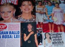 Princess Caroline of Monaco 39 pc German Clippings Collection Charlene Cover