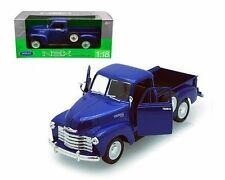 Welly 1/18 Scale 1953 CHEVROLET 3100 PICKUP Truck Blue Diecast Car Model