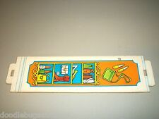 1975 Barbie FASHION PLAZA Doll House Bazzar Store Left Wall Panel Part Piece