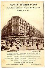 CP 75 PARIS - Marché Gouvion-St-Cyr - Paris 17ème - Alimentation Générale