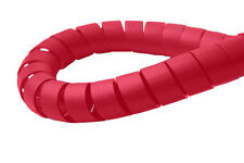 Spiral Binding Cable Wrap - RED Wire Tidy 6mm x 3m