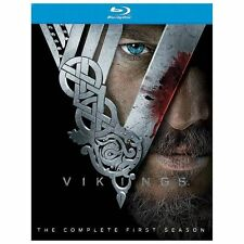Vikings: The Complete First Season (Blu-ray, 2013, 3-Discs) slip cover included