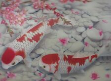 Poster Print 3d flip picture of gorgeouse  koi fish, great for Home Decoration