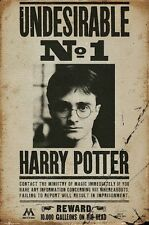 HARRY POTTER ~ DEATHLY HALLOWS No. 1 UNDESIRABLE 24x36 MOVIE POSTER Wanted