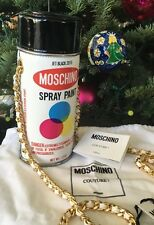 MOSCHINO COUTURE 'Spray Paint Can' Leather Crossbody Bag, NWT