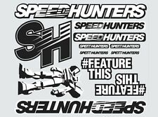 SPEEDHUNTERS Co.1 ROBOT STICKER SHEET  - OFFICIAL MERCHANDISE - RARE!