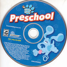 Blue's Clues PRESCHOOL - for Windows PC & Mac Educational Kids Game - NEW
