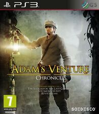 Adam's Venture Chronicles PS3 * NEW SEALED PAL *