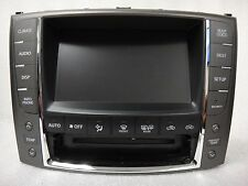 2010-2012 Lexus IS250 IS350 IS-F GPS Navigation System Display Screen OEM