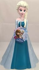 "New Cute Disney Frozen Elsa Figure Coin Bank 9"" T Molded Piggy Money Saving Bank"