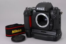 MINT Nikon F100 SLR 35mm Camera Body w/ MB-15 Battery Pack Strap from Japan a466